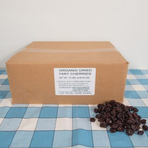 10 Pounds Organic Dried Cherries